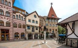 De Plaats van Europa, Komarno, Slowakije royalty-vrije stock fotografie