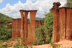De Plaats van het Stenen tijdperk van Isimila Royalty-vrije Stock Fotografie