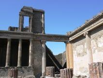 De plaats van Pompei stock afbeeldingen