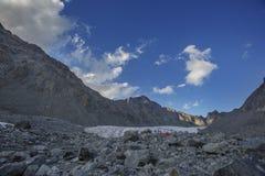 De plaatsen van Tomsk dichtbij Belukha-Berg, Altai royalty-vrije stock fotografie