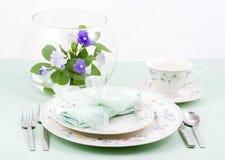 De plaatsende lente van de lijst, Aqua Stock Foto