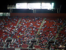 De plaatsing van het stadion bij het Spel van de Nacht Royalty-vrije Stock Afbeelding