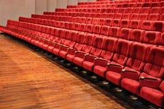 De plaatsingen van het theater stock afbeelding