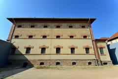 De Plaatsmuseum van de Qingdao Duits Gevangenis Stock Afbeeldingen