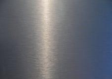 De plaattextuur van het metaal Stock Afbeeldingen