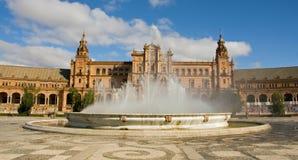 de plac Espana Zdjęcia Royalty Free