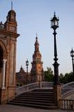 de plac Espana Seville zdjęcie stock