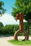 ` De De Plaetse do ` de Naturegate Natuurpoort nos Países Baixos imagem de stock royalty free