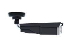 De plafond-opgezette geïsoleerde camera van de toezichtveiligheid 3d geef terug Stock Foto