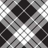 De plaid diagonaal naadloos patroon van het Macleodgeruite schots wollen stof vector illustratie