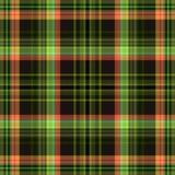 De plaid van de geruit Schots wollen stofstof, naadloze achtergrond tegelvierkant royalty-vrije illustratie