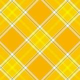 De Plaid van het geruite Schotse wollen stof royalty-vrije illustratie