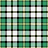 De Plaid van het geruite Schotse wollen stof Royalty-vrije Stock Afbeeldingen