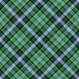 De Plaid van het geruite Schotse wollen stof stock illustratie