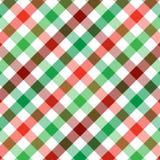 De Plaid van Kerstmis vector illustratie