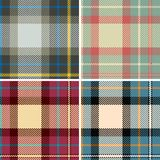 De plaid van Seamles Stock Illustratie