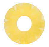 De plak van de ananas Royalty-vrije Stock Foto