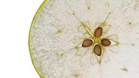 De plak van de appel Royalty-vrije Stock Afbeeldingen