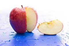 De plak van de appel Stock Foto's
