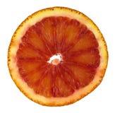 De plak van de bloedsinaasappel Royalty-vrije Stock Fotografie