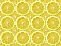 De plak van de citroen Stock Afbeeldingen