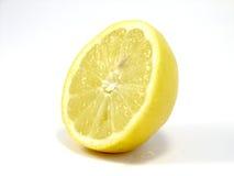 De plak van de citroen stock afbeelding
