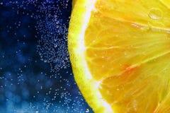 De plak van de citroen Royalty-vrije Stock Afbeeldingen