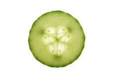 De Plak van de komkommer Stock Fotografie