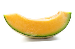 De plak van de meloen Royalty-vrije Stock Afbeeldingen