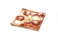 De plak van de pizza Royalty-vrije Stock Foto's
