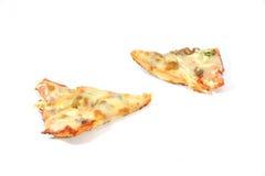 De Plak van de pizza Stock Foto