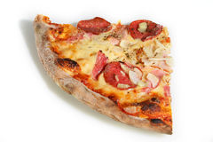 De plak van de pizza Stock Afbeelding