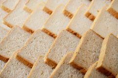 De plakachtergrond van het brood Stock Fotografie