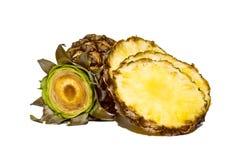 Ananasplakken stock fotografie