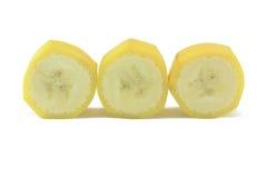 De plakken van de banaan stock afbeelding