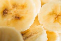 De plakken van de banaan royalty-vrije stock afbeeldingen