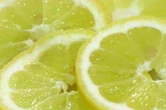 De Plakken van de citroen Royalty-vrije Stock Foto