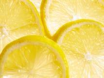 De plakken van de citroen Royalty-vrije Stock Afbeelding