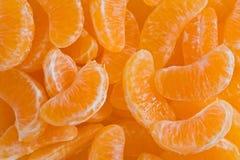 De Plakken van de clementine Stock Foto's