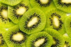 De plakken van de kiwi Stock Afbeelding