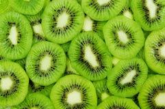 De plakken van de kiwi Stock Foto