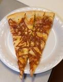 De Plakken van de pizza Royalty-vrije Stock Afbeelding