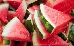 De Plakken van de watermeloen Royalty-vrije Stock Afbeelding