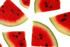 De plakken van de watermeloen Royalty-vrije Stock Foto