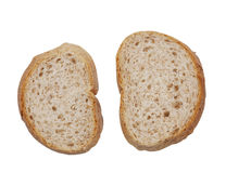 De plakken van het brood Royalty-vrije Stock Foto's