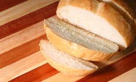 De plakken van het brood Stock Afbeeldingen