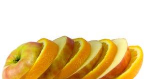 De plakken van het fruit Royalty-vrije Stock Foto's