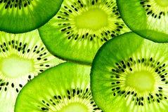 De plakken van Kiwifruit Royalty-vrije Stock Foto
