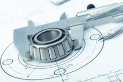 De plan industriële details Stock Fotografie