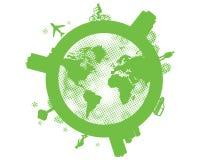 De planeet van de aarde. Stock Afbeelding